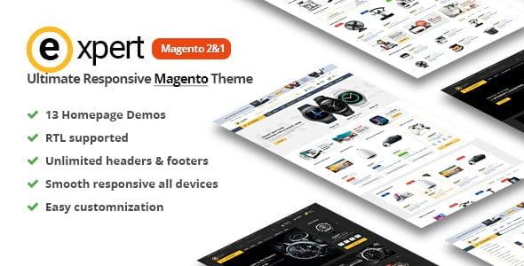 Expert Premium Magento 2 theme