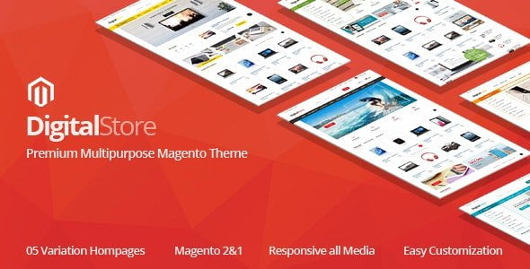 digitalstore magento theme