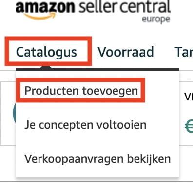 amazon producten toevoegen