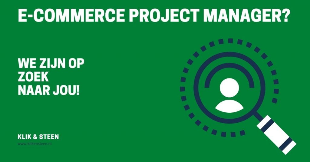 E-commerce project manager