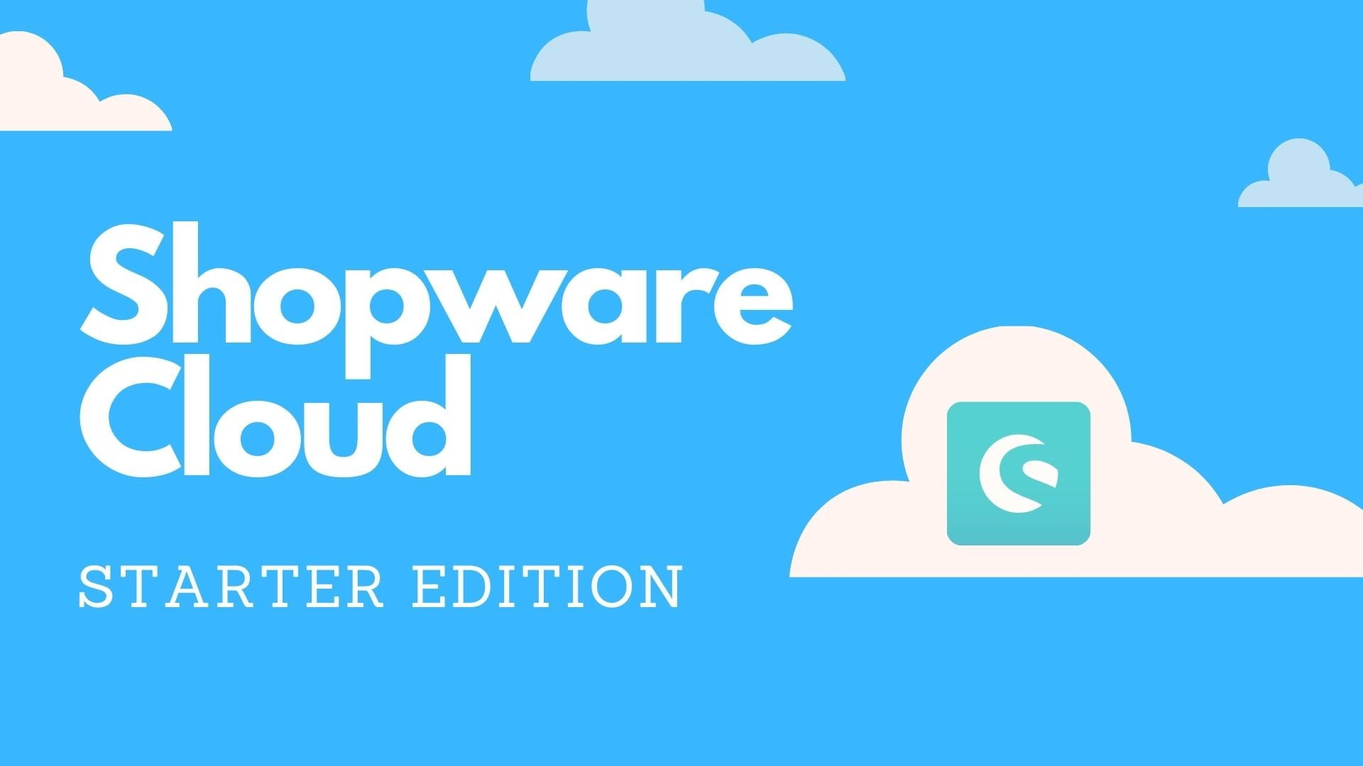 Shopware clous starter edition