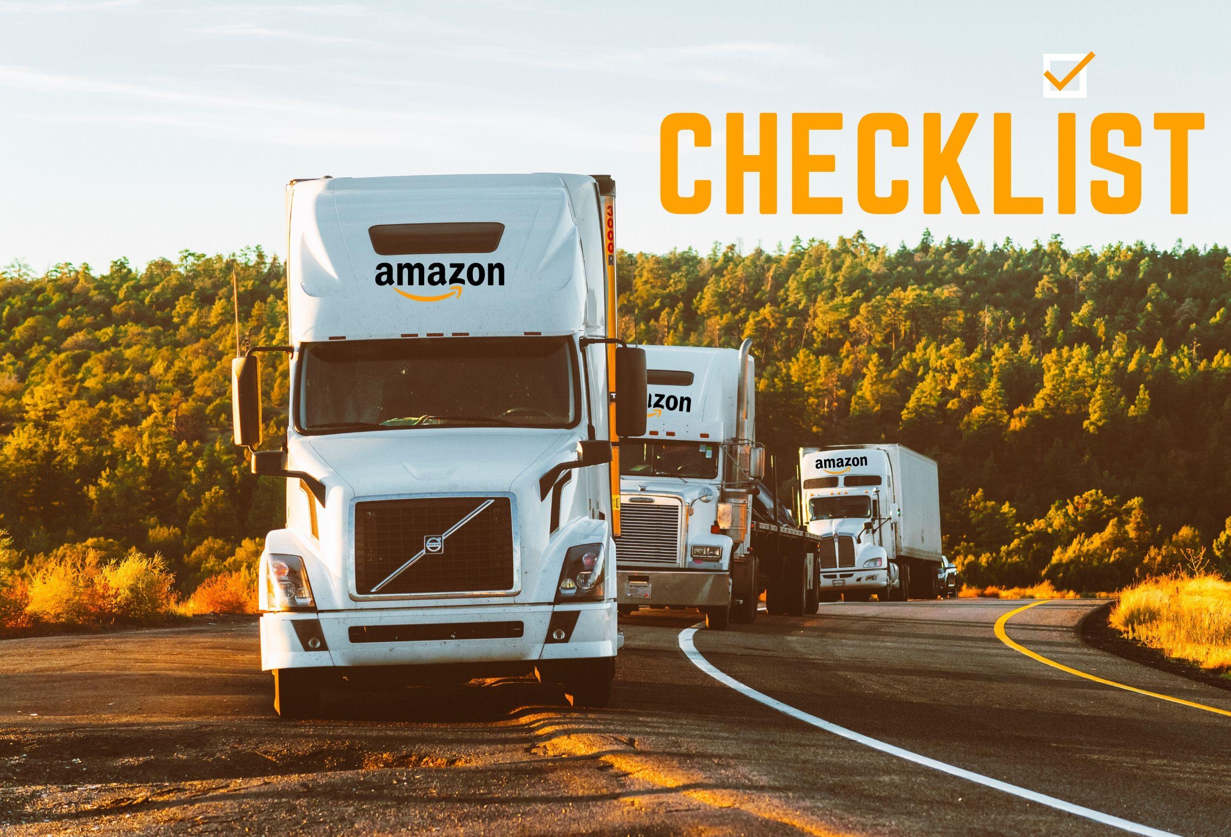 amazon checklist