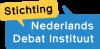 Stichting nederlands debat instituut logo