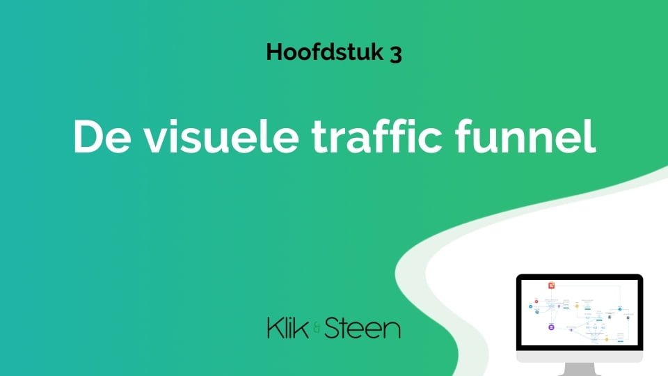 De visuele traffic funnel