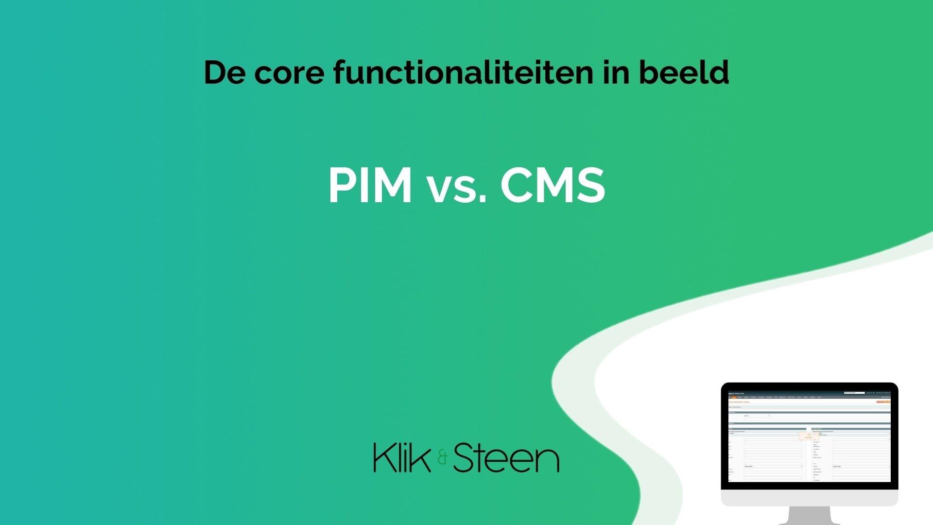 PIM vs CMS