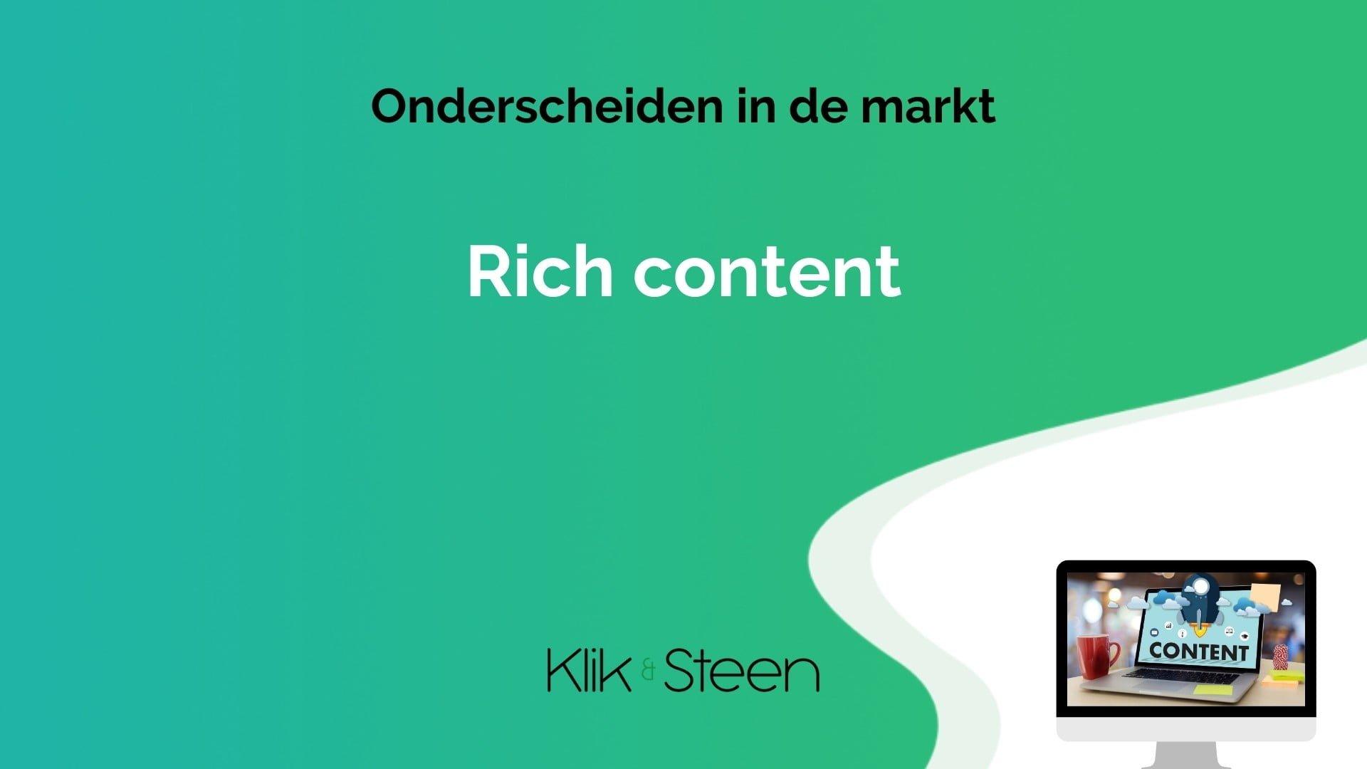 rich content pim systemen