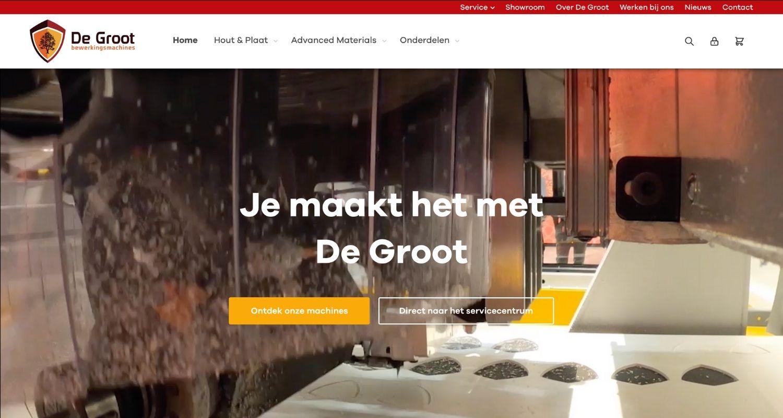 De Groot website