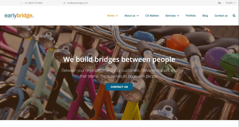 EarlyBridge website
