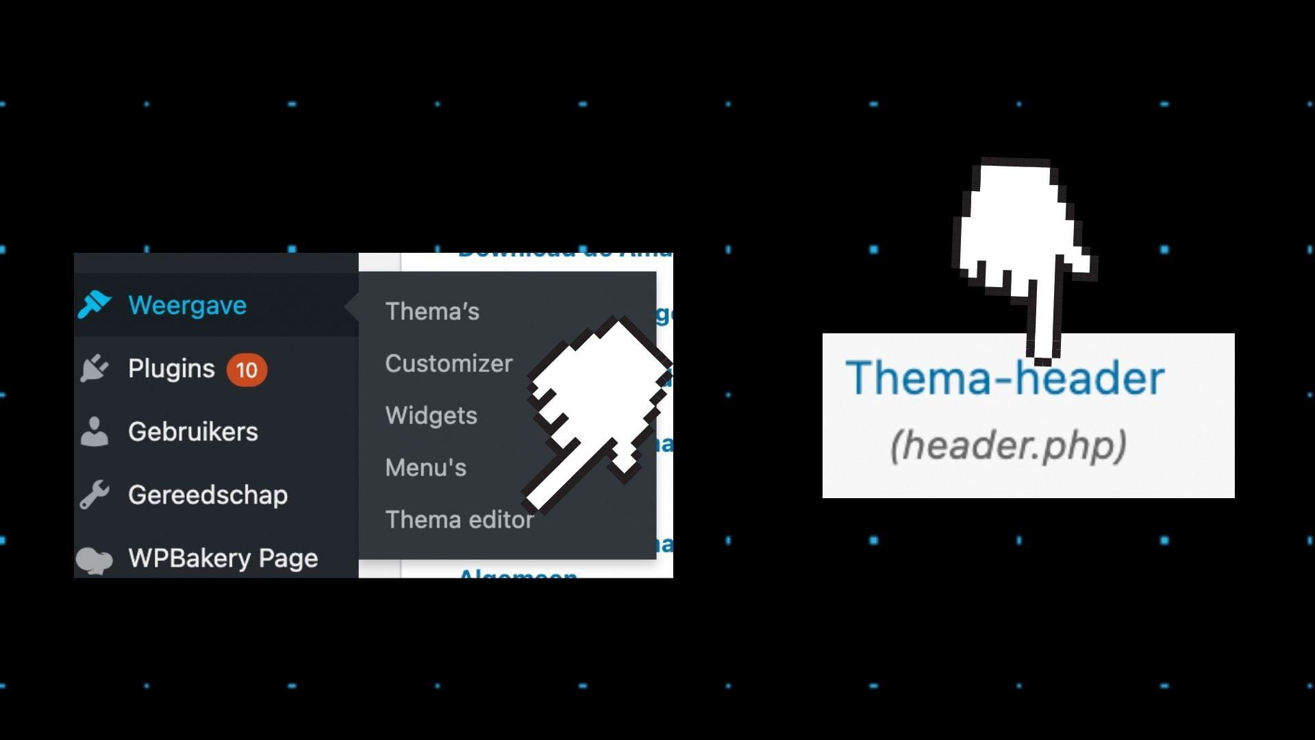 pixel header