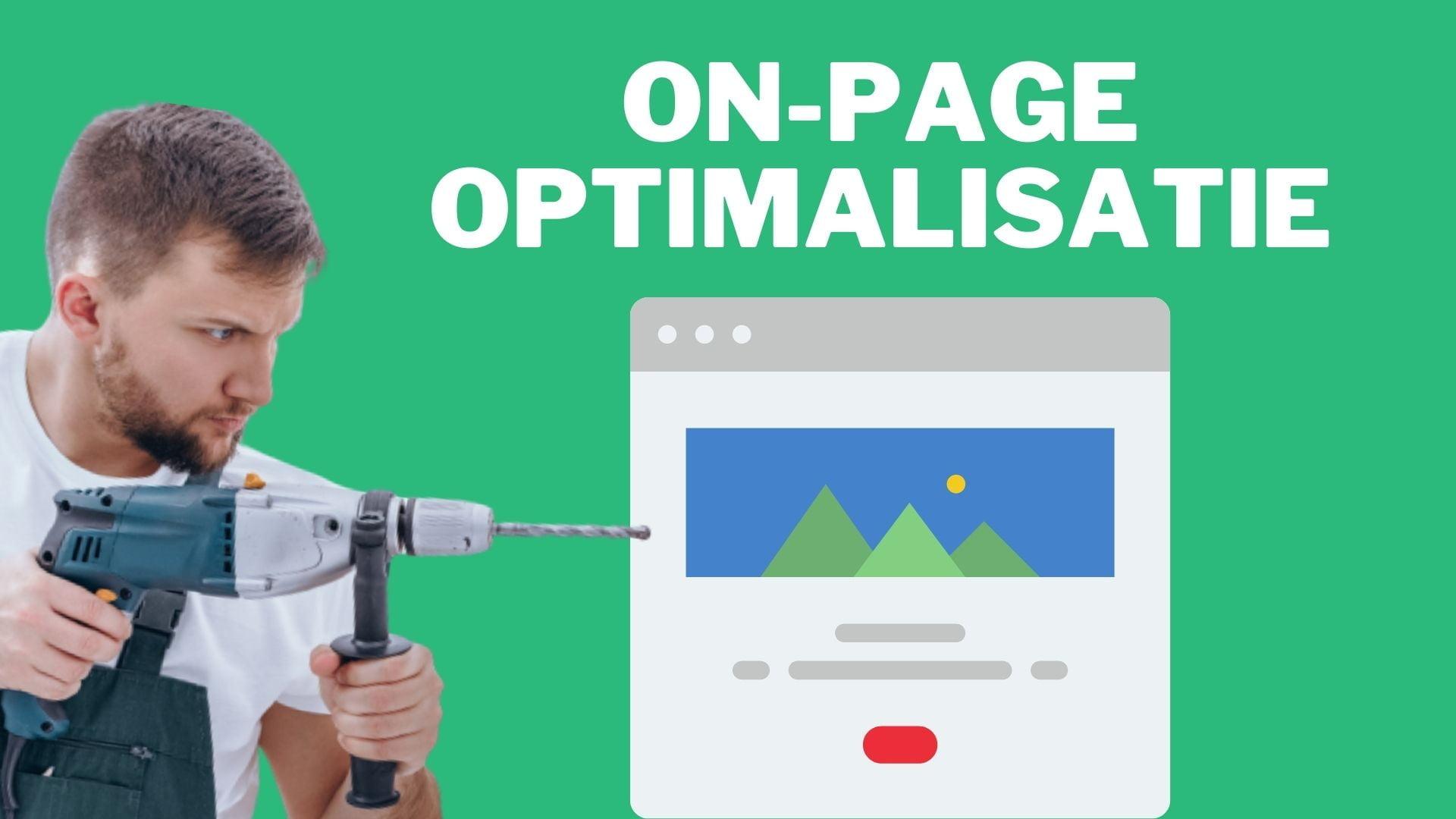 on-page optimalisatie