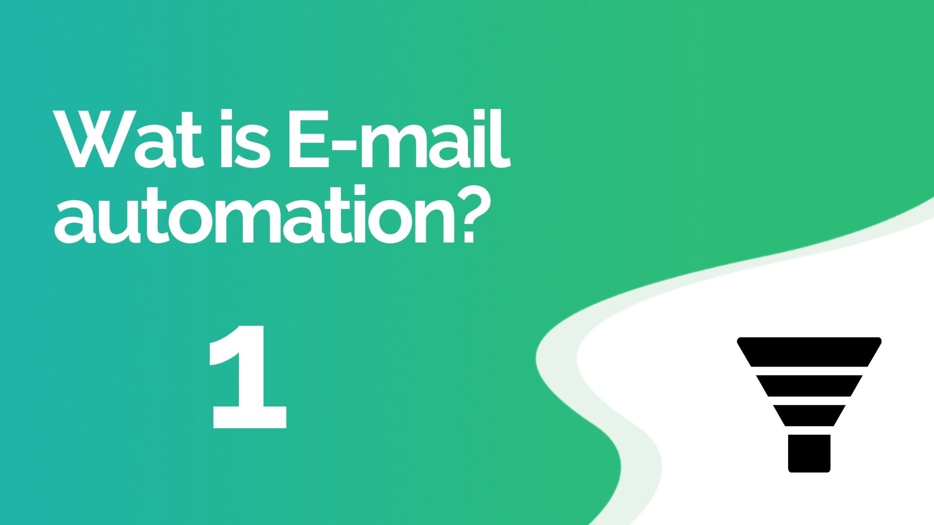 wat is email automation